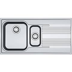 Franke Srx 651 Sink recessed 100 x 50 stainless steel - drip pan-right 101.0356.887 Smart