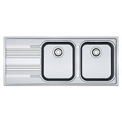 Franke Srx 621 Einbau-sink 116 x 50 inox - links entwurf 101.0356.896 Smart