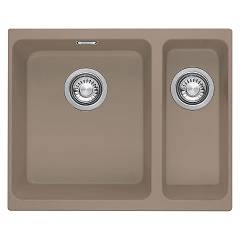 Franke Kbg 160 Sink undermounted 52,8 x 40 oyster 125.0501.449 Kubus Sottotop