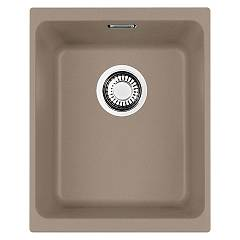 Franke Kbg 110-34 Sink undermounted 34 x 40 oyster 125.0501.456 Kubus Sottotop