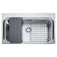 Franke Aex 610-a 86 x 51 built-in sink 1 bowl - stainless steel Acquario Line