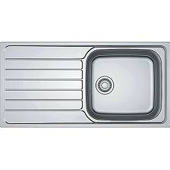 Franke Skx 611-100 Built-in sink 100 x 50 stainless steel - left drainer 101.0264.034 Spark