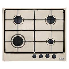 Franke Fhlm 604 4g Oa E Table de cuisson à gaz 59 x 51 cm - avoine 106.0189.519 Multi Cooking