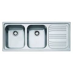 Franke Rrx 621 Stainless steel built-in sink 116 x 50 - right drainer 101.0053.246 Radar