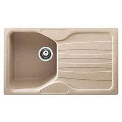 Franke Cug 611 Sink recessed 86 x 50 cm oat - right drainer 114.0502.975 Calypso