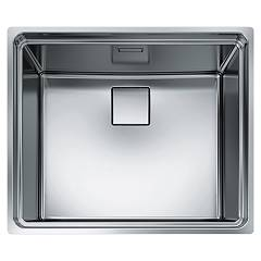 Franke Cex 210-50 / 610-50 Semi-flush sink 55.5 x 46.5 cm - stainless steel 127.0179.081 Centinox