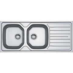 Franke Reno 621 Stainless steel built-in sink 116 x 50 cm - left drainer 101.0502.112