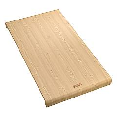 Franke 112.0595.334 Multifunctional bamboo wood cutting board 28 x 53