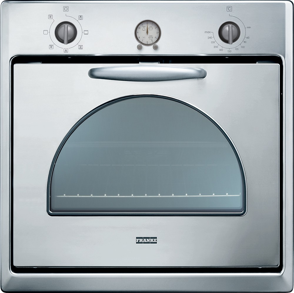 Franke CM 65 M XS multifunction electric oven with satin stainless steel finish