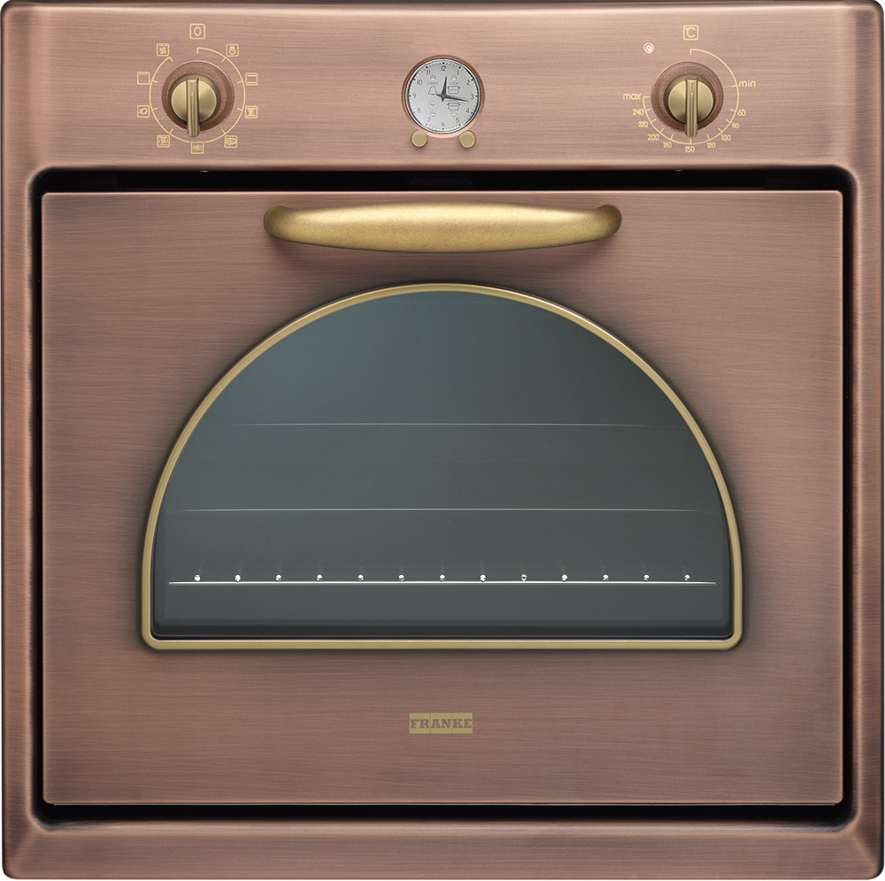 Franke CM 85 M CO multifunction electric oven with copper finish