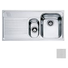 Franke Aml 651 Built-in 1 1/2 bowl sink 100 x 50 with left drainer - dekor Armonia