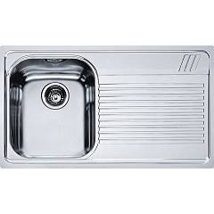 Franke Amx 611 86 x 50 built-in sink 1 bowl with right drip - stainless steel Armonia