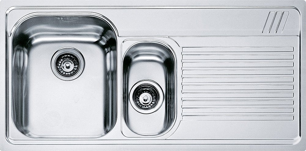 Franke built-in sink AMX 651 right drip - stainless steel