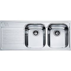 Franke Amx 621 Recessed sink 116 x 50 inox - left draft 101.0022.382 Armonia