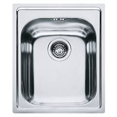 Franke Amx 610 42 x 50 built-in sink 1 bowl - stainless steel Armonia