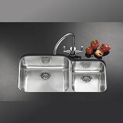 Franke undermount sink GAX 120 - set top view