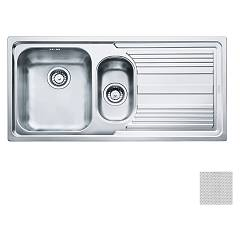 Franke Lll 651 1 1/2 bowl built-in sink 100 x 50 with right drip - dekor Logica Line