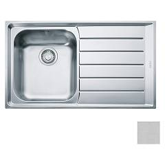 Franke Net 611 86 x 51 built-in sink 1 bowl with right drainer - microdekor Neptune