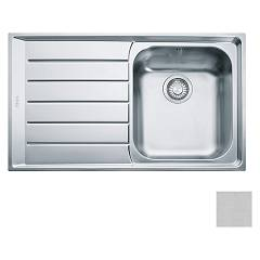 Franke Net 611 86 x 51 built-in sink 1 bowl with left drainer - microdekor Neptune