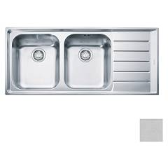 Franke Net 621 Recessed sink 116 x 51 microdekor - right drop 100.0040.742 Neptune