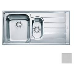 Franke Net 651 Recessed sink 100 x 51 microdekor - right drop 100.0040.744 Neptune