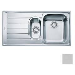 Franke Net 651 Recessed sink 100 x 51 microdekor - left draft 101.0040.745 Neptune