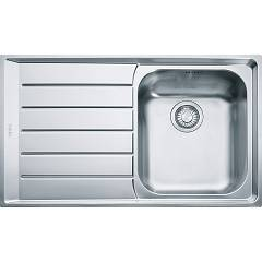 Franke Nex 611 86 x 51 built-in sink 1 bowl with left drainer - stainless steel Neptune