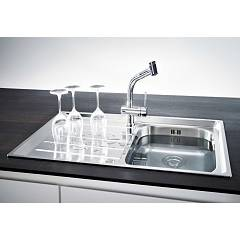 Franke built-in sink NEX 611 left drainer - set