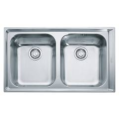 Franke Nex 620 86 x 51 2 bowl built-in sink - stainless steel Neptune