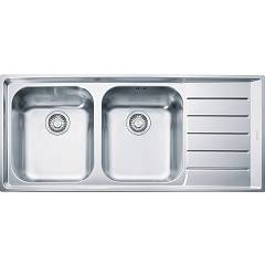 Franke Nex 621 Recessed sink 116 x 51 stainless steel - right drop 100.0040.734 Neptune