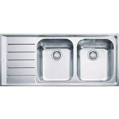 Franke Nex 621 Recessed sink 116 x 51 stainless steel - left draft 101.0040.736 Neptune