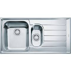 Franke Nex 651 Recessed sink 100 x 51 stainless steel - right draft 101.0040.737 Neptune
