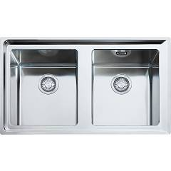 Franke Npx 620 86 x 51 2 bowl built-in sink - stainless steel Neptune Plus