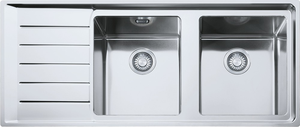 Franke built-in sink NPX 621 left drainer