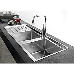 Franke built-in sink NPX 621 left drainer - set
