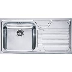 Franke Gax 611 Recessed sink 100 x 50 stainless steel - right drop 100.0017.509 Galassia