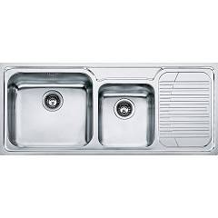 Franke Gax 621 Recessed sink 116 x 50 stainless steel - right drop 100.0017.506 Galassia