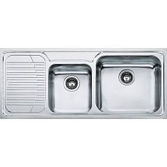 Franke Gax 621 Recessed sink 116 x 50 inox - left draft 101.0017.504 Galassia