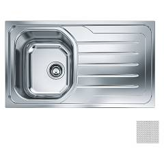 Franke Oll 611-l Built-in dekor sink 86 x 50 cm - right drainer 101.0180.264 Onda Line
