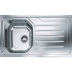 Franke Olx 611-l 86 x 50 built-in sink 1 bowl with right drip - stainless steel Onda Line