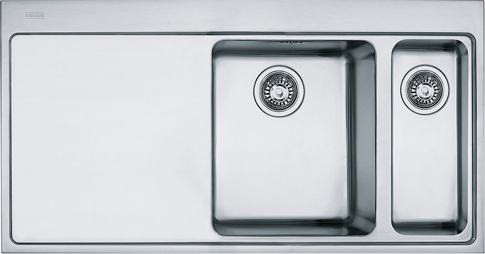 Photos 1: Franke MMX 261 Mythos Sink filotop 100 x 52 stainless steel - left dropped 127.0072.492
