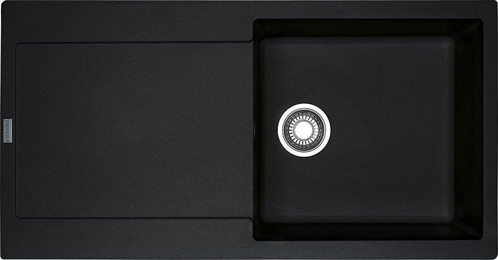 Photos 1: Franke MRG 611-L Maris Recessed sink 97 x 50 black - reversible dropped 114.0157.482