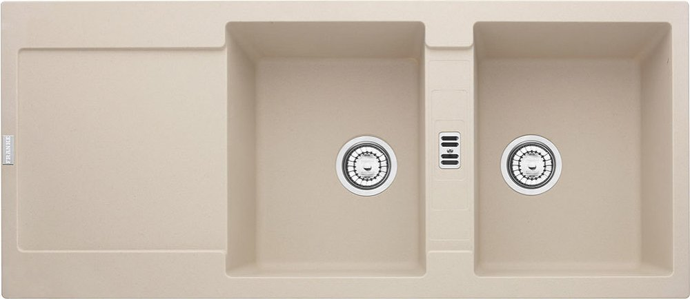Photos 1: Franke MRG 621 Maris Recessed sink 116 x 50 sahara - reversible dropped 114.0066.717