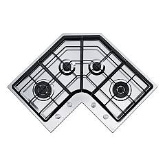 Franke Fhne Cor 4 3g Tc Xs C Gas hob corner cm. 83 x 83 - satin stainless steel Neptune Angolo