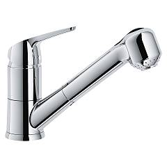 Franke Novara Eco Doccia Kitchen mixer with shower - chrome