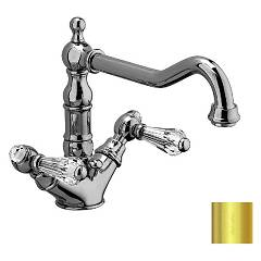 sale Frattini 33865sc.02 - Lybra Suite Kitchen Faucet - Gold