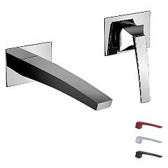 Frattini 84034a Wall-mounted sink mixer - chrome color without discharge Luce