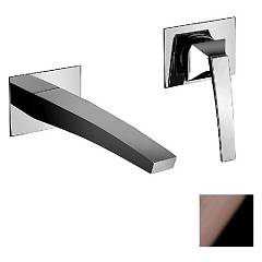 Frattini 84034a.89 Wall mounted mixer - black chrome without discharge Luce