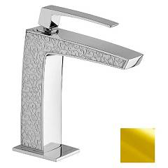 Frattini 84050sc.02 Basin mixer - gold brez drain Luce Suite