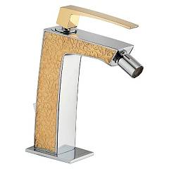 Frattini 84103sc.20 Bide mixer - chrome gold Luce Suite